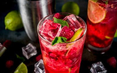 RASPBERRY LIME SPRITZ