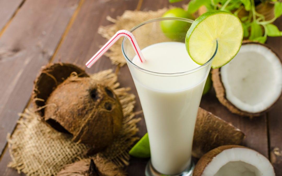 COCONUT-LIME CREAM SODA